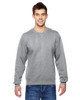 Athletic Heather - SF72R Fruit of the Loom Sofspun® Crewneck Sweatshirt  | Blankclothing.ca