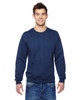 Navy - SF72R Fruit of the Loom Sofspun® Crewneck Sweatshirt  | Blankclothing.ca