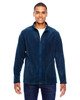 Dark Navy - TT90 Team 365 Men's Campus Microfleece Jacket | BlankClothing.ca