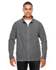 Graphite - TT90 Team 365 Men's Campus Microfleece Jacket | BlankClothing.ca