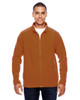 Burnt Orange - TT90 Team 365 Men's Campus Microfleece Jacket | BlankClothing.ca