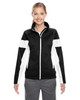 Black/White - TT34W Team 365 Ladies' Elite Performance Full-Zip Jacket