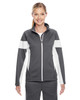 Graphite/White - TT34W Team 365 Ladies' Elite Performance Full-Zip Jacket