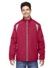 Olympic Red - 88155 North End Men's Lightweight Colour-Block Jacket | Blankclothing.ca