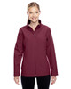 Maroon - TT80W Team 365 Leader Soft Shell Jacket | BlankClothing.ca