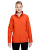 Orange - TT80W Team 365 Leader Soft Shell Jacket | BlankClothing.ca