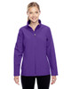 Purple - TT80W Team 365 Leader Soft Shell Jacket | BlankClothing.ca