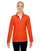 Orange - TT90W Team 365 Ladies' Campus Microfleece Jacket | BlankClothing.ca