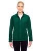 Forest - TT90W Team 365 Ladies' Campus Microfleece Jacket | BlankClothing.ca