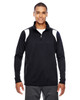 Black/White - TT32 Team 365 Men's Elite Performance Quarter-Zip Sweater