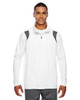 White/Graphite - TT32 Team 365 Men's Elite Performance Quarter-Zip Sweater