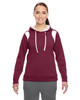 Maroon/White - TT30W Team 365 Ladies' Elite Performance Hoodie | Blankclothing.ca