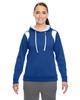 Royal/White - TT30W Team 365 Ladies' Elite Performance Hoodie | Blankclothing.ca