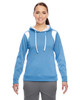 Light Blue/White - TT30W Team 365 Ladies' Elite Performance Hoodie | Blankclothing.ca