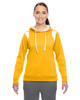 Athletic Gold/White - TT30W Team 365 Ladies' Elite Performance Hoodie | Blankclothing.ca