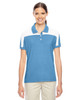 Light Blue/White - TT22W Team 365 Victor Performance Polo Shirt