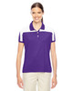 Purple/White - TT22W Team 365 Victor Performance Polo Shirt