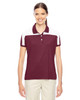 Maroon/White - TT22W Team 365 Victor Performance Polo Shirt