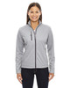 Platinum - 78213 North End Ladies' Trace Printed Fleece Jacket | Blankclothing.ca