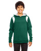 Forest/White - TT30Y Team 365 Youth Elite Performance Hoodie | BlankClothing.ca