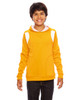 Athletic Gold/White - TT30Y Team 365 Youth Elite Performance Hoodie | BlankClothing.ca