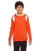 Orange/White - TT30Y Team 365 Youth Elite Performance Hoodie | BlankClothing.ca
