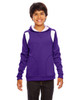 Purple/White - TT30Y Team 365 Youth Elite Performance Hoodie | BlankClothing.ca