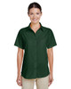Palm Green - M610SW Harriton Paradise Short-Sleeve Performance Shirt | BlankClothing.ca