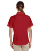 Parrot Red, Back - M610SW Harriton Paradise Short-Sleeve Performance Shirt | BlankClothing.ca