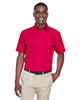 Red - M580 Harriton Men's Key West Short-Sleeve Performance Staff Shirt | BlankClothing.ca