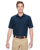 Navy - M580 Harriton Men's Key West Short-Sleeve Performance Staff Shirt