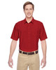 Parrot Red - M610S Harriton Paradise Short-Sleeve Performance Shirt | BlankClothing.ca