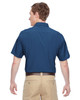 Pool Blue, Back - M610S Harriton Paradise Short-Sleeve Performance Shirt | BlankClothing.ca