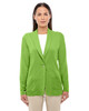 Lime - DP462W Devon & Jones Ladies' Perfect Fit Shawl Collar Cardigan
