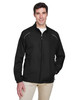 Black - 88183T Ash City - Core 365 Tall Motivate Unlined Lightweight Jacket | Blankclothing.ca
