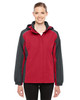 Classic Red/Carbon - 78225 Ash City - Core 365 Ladies' Inspire Colorblock All-Season Jacket | Blankclothing.ca