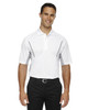 White - 85110 Ash City - Extreme Eperformance Men's Parallel Polo with Piping