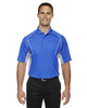 Ltnaut Blu - 85110 Ash City - Extreme Eperformance Men's Parallel Polo with Piping