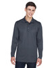 Carbon - 85111 Ash City - Extreme Eperformance Men's Long-Sleeve Polo Shirt