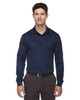 Classic Navy - 85111 Ash City - Extreme Eperformance Men's Long-Sleeve Polo Shirt