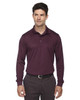 Burgundy - 85111 Ash City - Extreme Eperformance Men's Long-Sleeve Polo Shirt