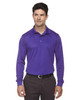 Campus Purple - 85111 Ash City - Extreme Eperformance Men's Long-Sleeve Polo Shirt