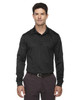 Black 85111T Ash City - Extreme Eperformance Men's Tall Long-Sleeve Polo Shirt