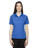 Ltnaut Blue 75107 Ash City - Extreme Eperformance Ladies' Velocity Colourblock Polo Shirt with Piping