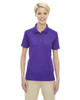 Campus Prple 75108 Ash City - Extreme Eperformance Ladies' Shield Short-Sleeve Polo Shirt