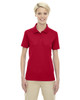 Classic Red 75108 Ash City - Extreme Eperformance Ladies' Shield Short-Sleeve Polo Shirt