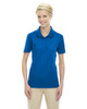 True Royal 75108 Ash City - Extreme Eperformance Ladies' Shield Short-Sleeve Polo Shirt
