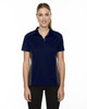 Classic Navy - 75113 Ash City - Extreme Eperformance Ladies' Fuse Plus Colourblock Polo Shirt | Blankclothing.ca