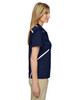 Classic Navy - Side, 75118 Ash City - Extreme Eperformance Propel Interlock Polo Shirt with Contrast Tape | BlankClothing.ca