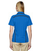 Light Nautical Blue - Back, 75118 Ash City - Extreme Eperformance Propel Interlock Polo Shirt with Contrast Tape | BlankClothing.ca